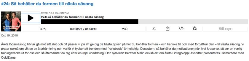 Ewerlöf&Månström podcast