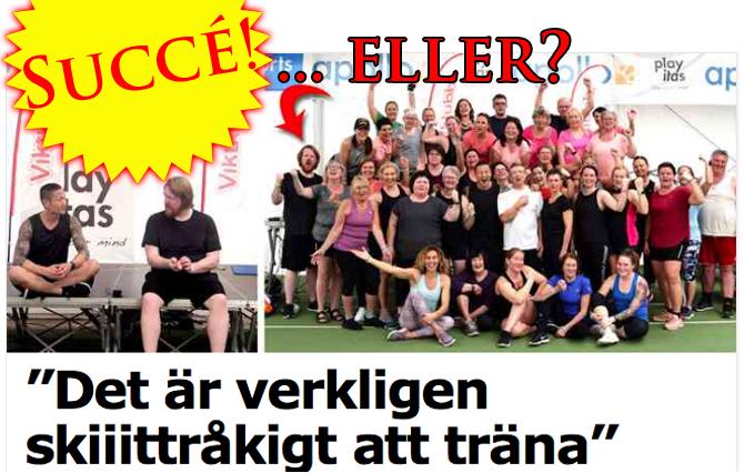 Martin Almgren träningstrolleri