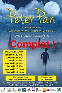 Spectacle Peter Pan complet
