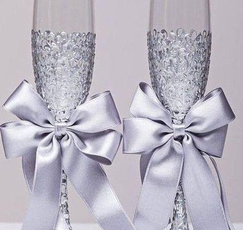 Las bodas de cristal decoración