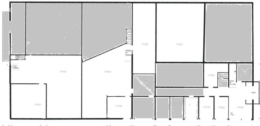 Tyringe företagsby, kontorshus entreplan