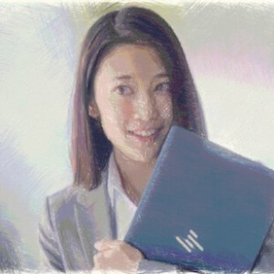 HPエリートドラゴンフライCMのセミロングの女優!橘茉希がかわいい!