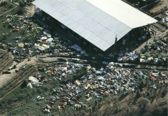 人民寺院の集団自殺