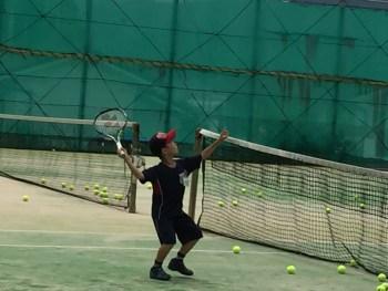 小学生テニス