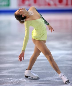 Italy's Carolina Kostner during Women's