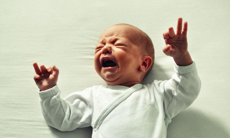 赤ちゃんがたまに寝入りが悪い時