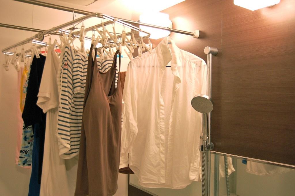 浴室乾燥機 洗濯物 臭い
