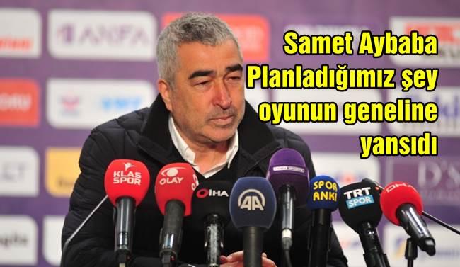 """Samet Aybaba: """"Planladığımız şey oyunun geneline yansıdı"""""""