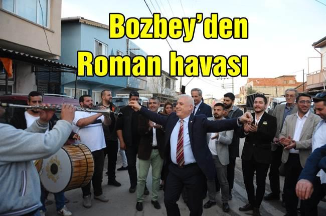 Mustafa Bozbey'den Roman havası