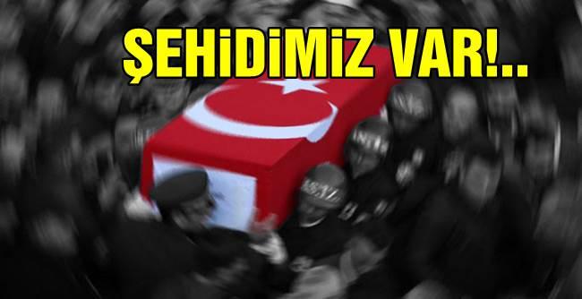 Şırnak'ta el yapımı patlayıcı infilak etti:   1 şehit, 1 asker yaralı