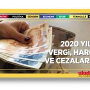 2020 yılında vergi, harç ve cezaları
