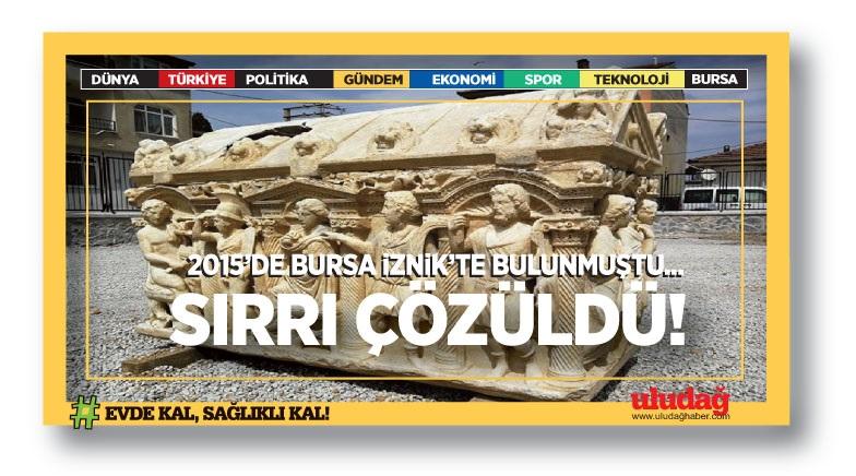 2015'de Bursa'da bulunmuştu! Sırrı çözüldü…