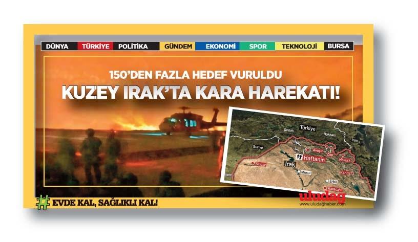 Kuzey Irak'ta kara harekatı (Pençe-Kaplan Operasyonu)