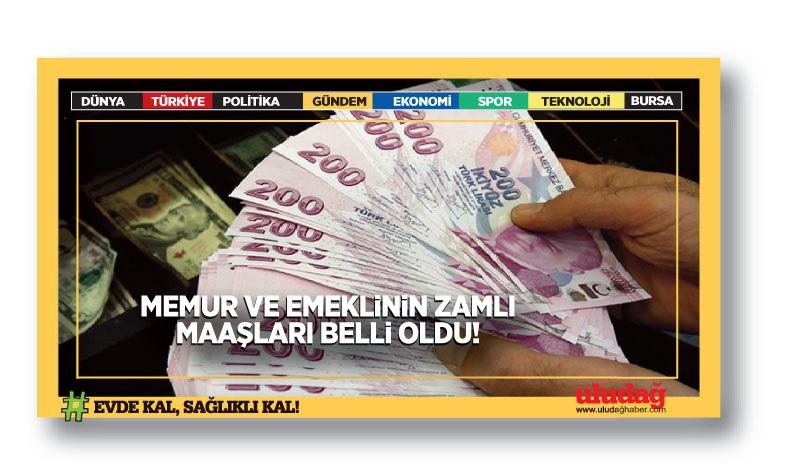 Memur ve emeklinin zam ayı geldi çattı! İşte zamlı maaşlar…