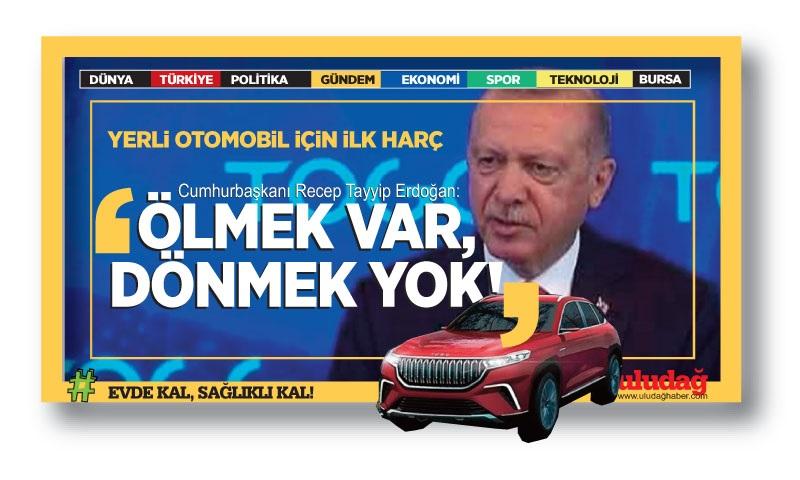 Türkiye'nin Otomobili fabrikasına ilk harç