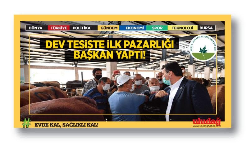 Günlük 4 bin hayvan kesim kapasiteli tesis Türkiye'nin en iyisi…