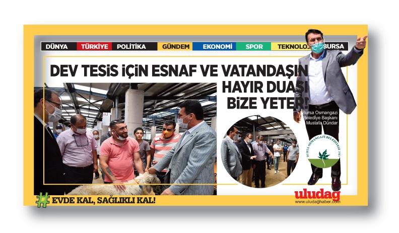 Tesisinin Türkiye'de eşi benzeri yok…