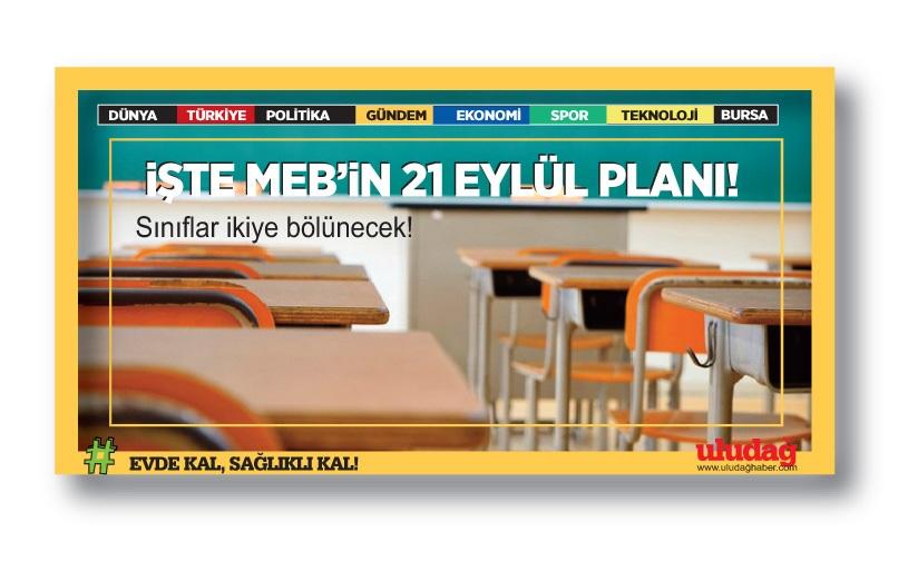 İşte Milli Eğitim'in 21 Eylül planı: Sınıflar ikiye bölünecek!