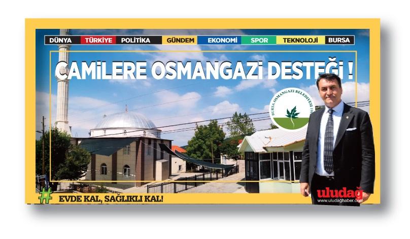 Osmangazi'de Camilerin Çevresi Güzelleşiyor