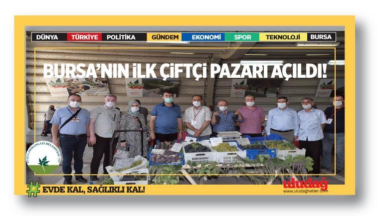 17 İlçenin ürünü Osmangazi'de buluşuyor