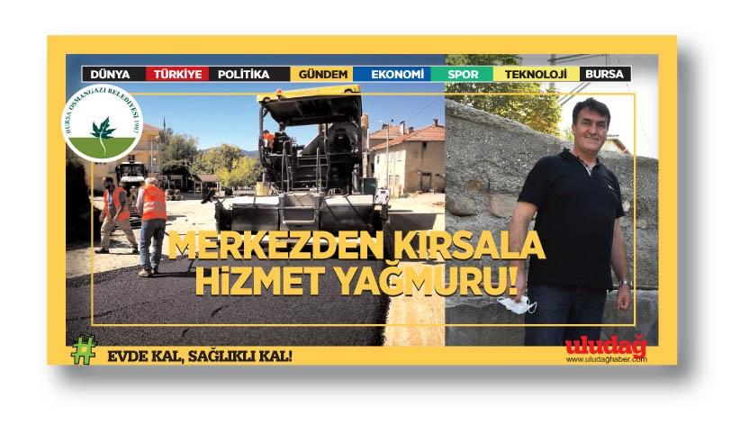 Dağ köylerine Osmangazi desteği…