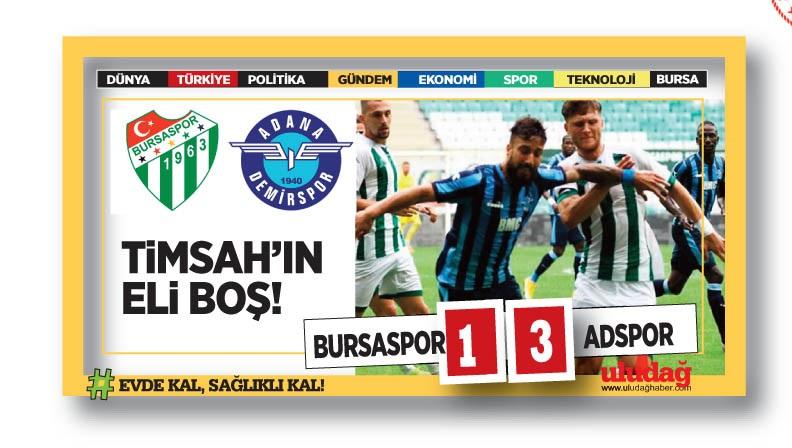 Bursaspor evinde kayıp!