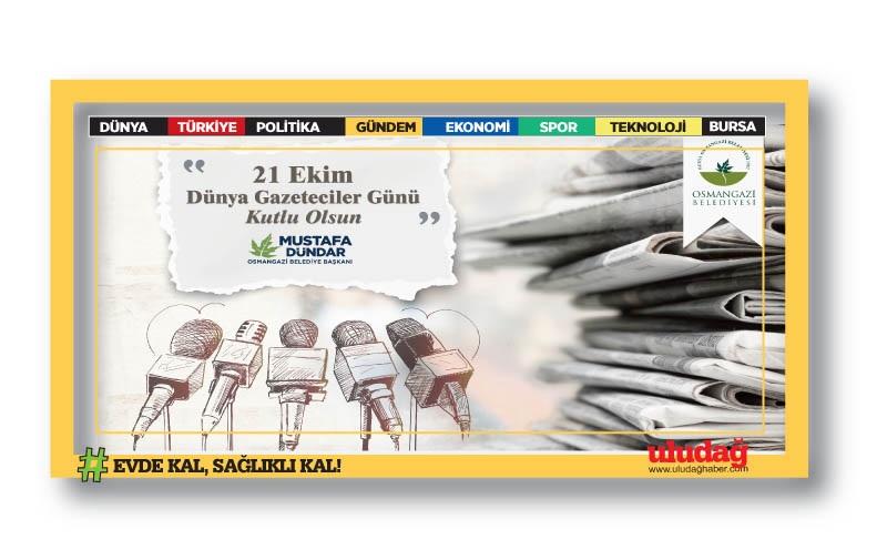 21 Ekim Dünya Gazeteciler Günü