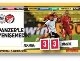Almanya – Türkiye maç sonucu: 3-3