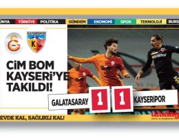 Galatasaray – Kayserispor : 1-1