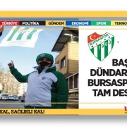 Bursaspor Sevdalısına Dündar'dan Jest