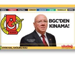 BGC'den kınama