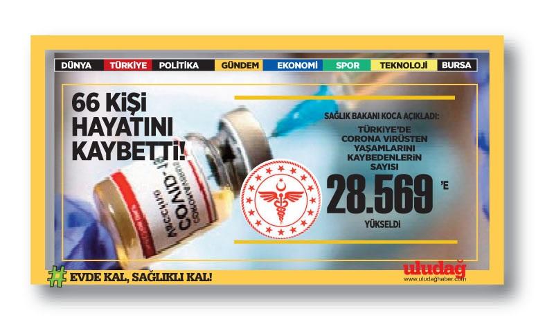 Türkiye'de son 24 saatin koronavirüs vaka sayısı 8 binin üstünde!