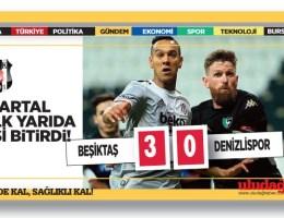 Beşiktaş-Denizlispor 3-0