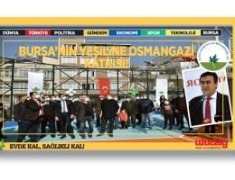 Osmangazi, yeni parklar ile nefes alıyor