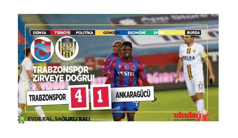 Trabzon evinde zorlanmadı: 4-1