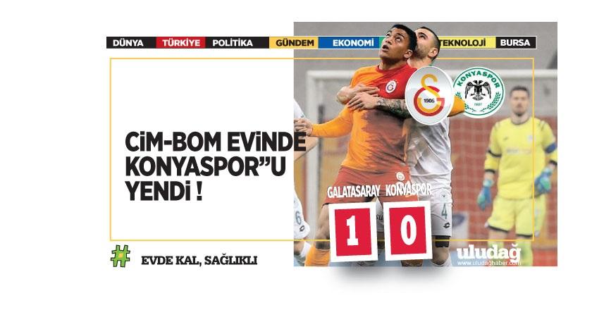 Galatasaray – Konyaspor maç sonucu: 1-0
