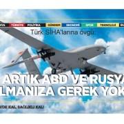 Türk SİHA'larına övgü: Gelişmiş ülkeler savaş taktiklerini düzenlemek zorunda kaldı