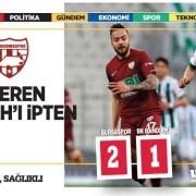Bursaspor – Bandırmaspor maç sonucu: 2-1