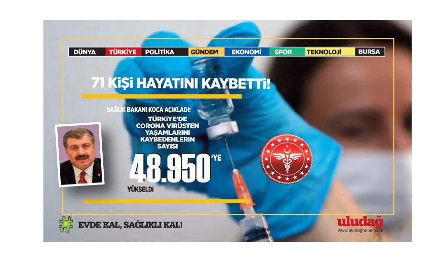 Türkiye'nin 16 Haziran korona virüs tablosu açıklandı