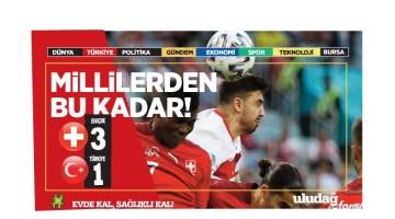 İsviçre – Türkiye maç sonucu: 3-1
