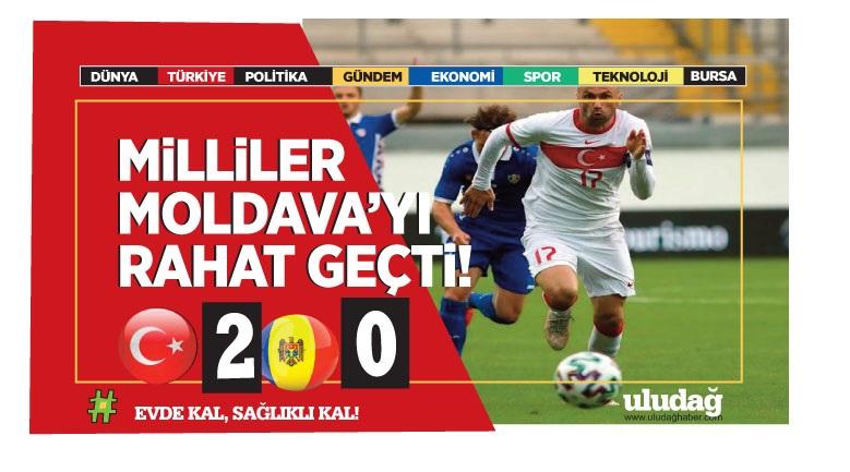 Türkiye – Moldova maç sonucu: 2-0