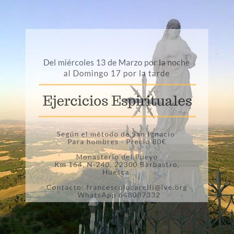 Ejercicios ignacianos marzo 2019