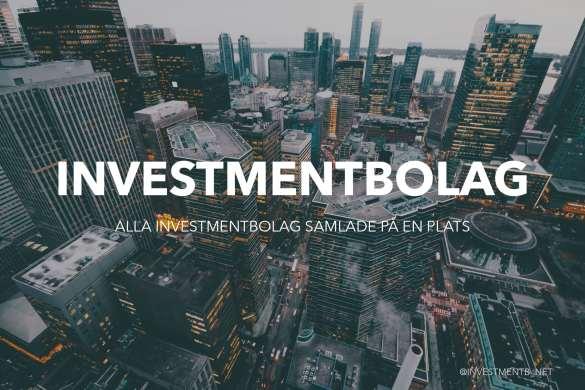 utländska investmentbolag europeiska investmentbolag