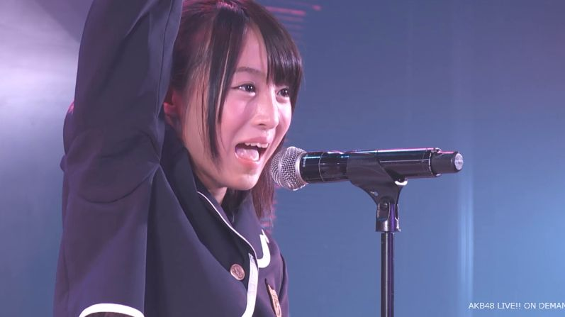 AKB48チーム8坂口渚沙ちゃん劇場公演デビュー 畫像170枚   黒髪少女