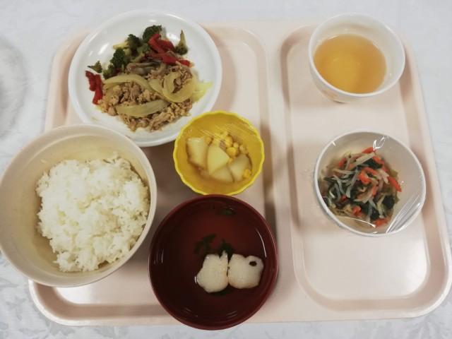 舌癌入院の食事