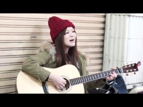 【冨田麗香】365日の紙飛行機 AKB48カバー ストリート弾き語り