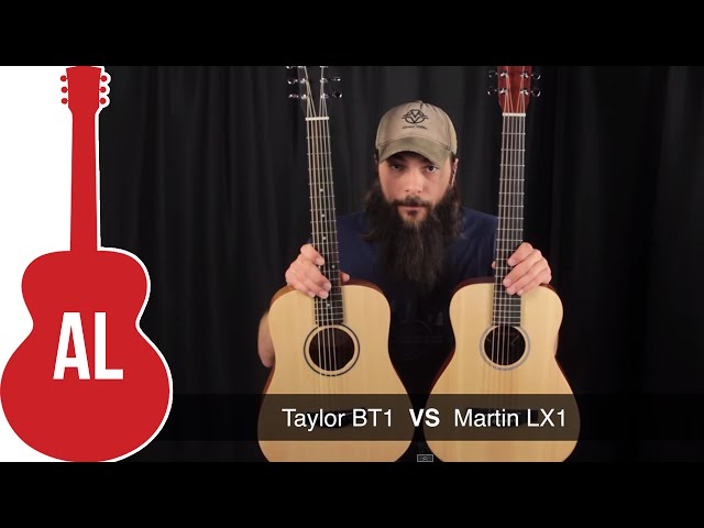 Martin LX1 vs Baby Taylor ミニギター比較