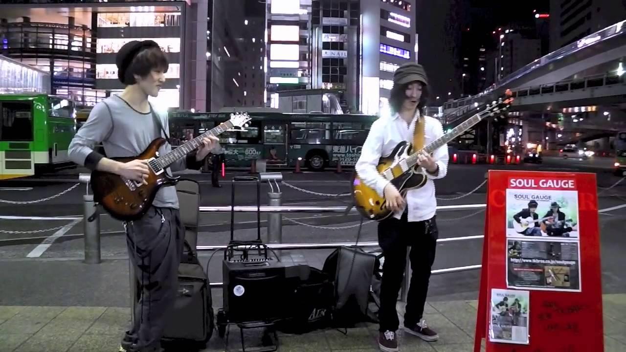 【SoulGauge】 ルパン3世のテーマ 【ストリートライブ】