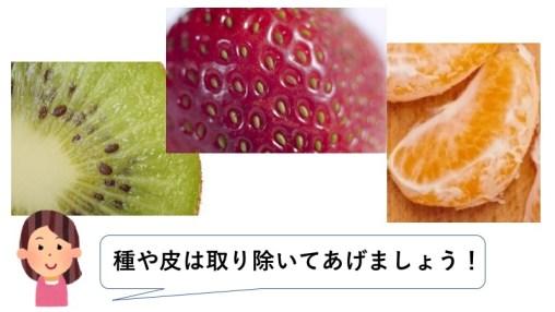 離乳食 果物
