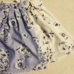 【品番有】しまむらマーキュリーデュオ風花柄スカートがとってもcute♡
